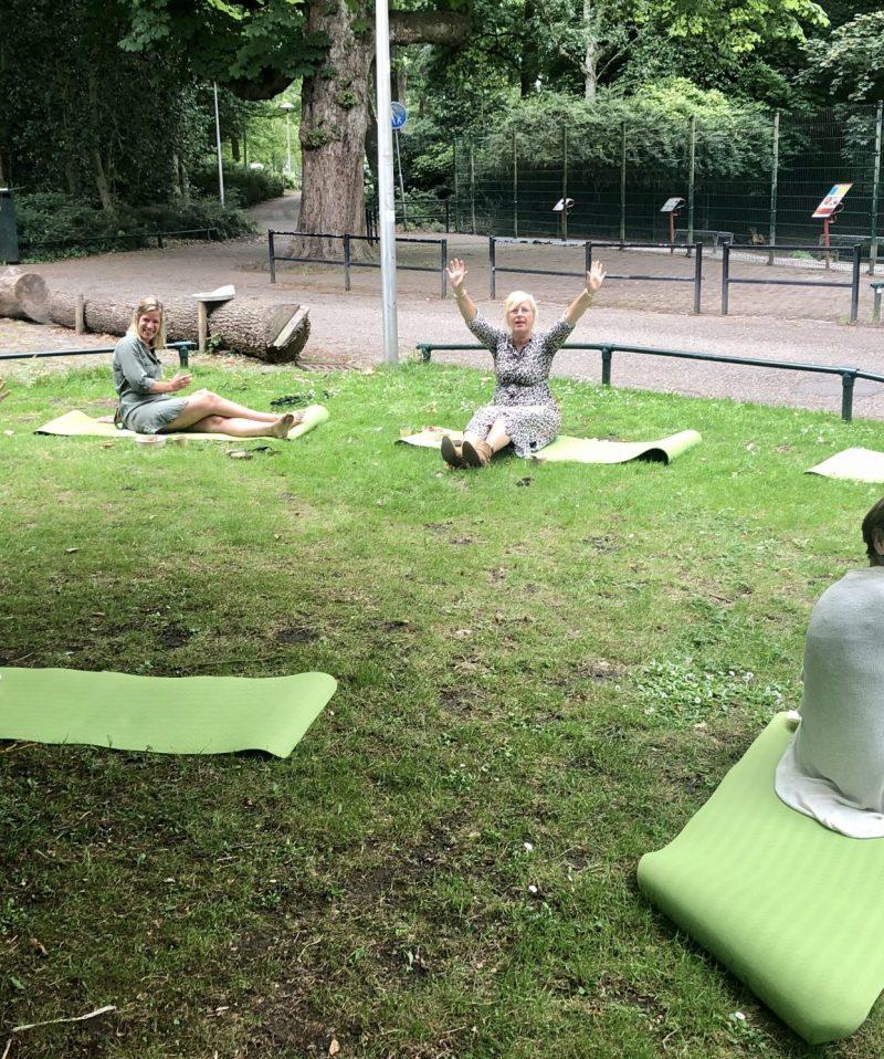 Trainen met anderhalve meter - Schoonderwoerd - picknick lunch